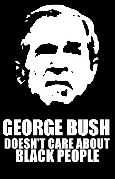 8 years worth liberal hate Bush hate